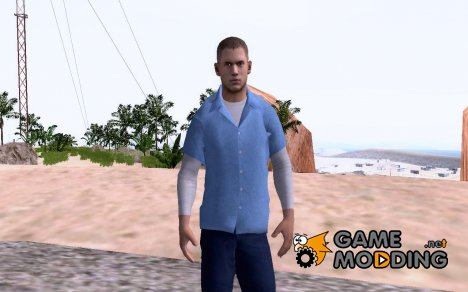 Michael Scofield (В рубашке) for GTA San Andreas