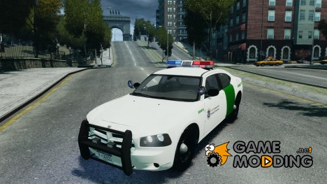 Dodge Charger US Border Patrol CHGR-V2.1M для GTA 4
