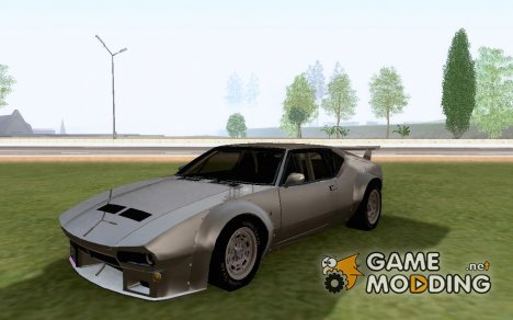 DeTomaso Pantera Custom [ImVehFt] for GTA San Andreas