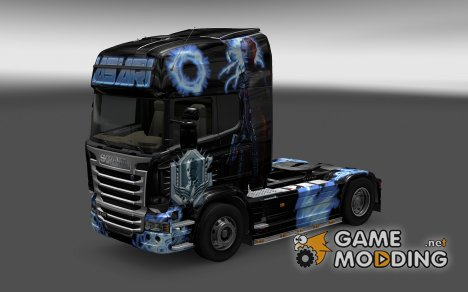 Скин Asari для Scania Streamline for Euro Truck Simulator 2