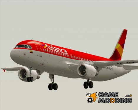 Airbus A320-200 Avianca for GTA San Andreas