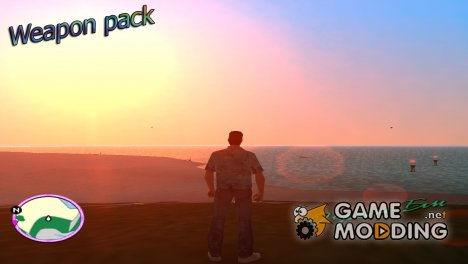 Weapon pack By NIGER for GTA Vice City