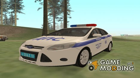 Ford Focus 3 - ОБ ДПС for GTA San Andreas