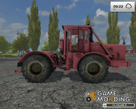 Кировец K-701 Dunkelrot for Farming Simulator 2013