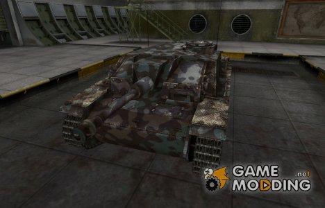 Горный камуфляж для StuG III for World of Tanks