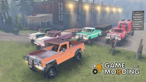 Jeep J-10 W 1979 for Spintires 2014