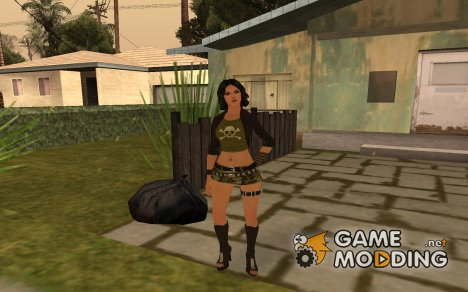 Gallasia Santos for GTA San Andreas