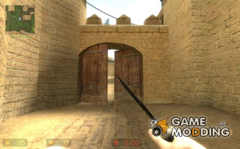 Hidden: Source Knife port for Counter-Strike Source
