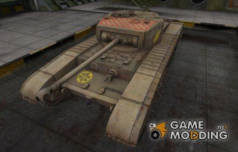 Качественные зоны пробития для Matilda Black Prince for World of Tanks