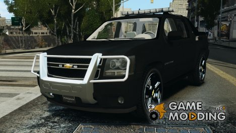 Chevrolet Avalanche 2007 [ELS] for GTA 4
