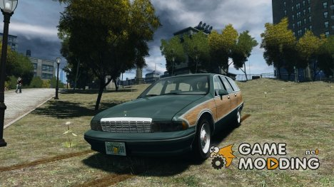 Chevrolet Caprice Civil 1992 v1.0 для GTA 4