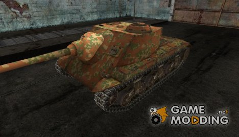 шкурка для T25 AT №10 for World of Tanks