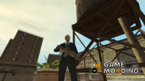M4A1 with m203 and Sight для GTA 4
