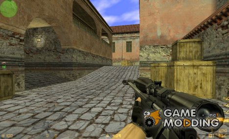 woot AWP (w/ Blue Scope & w/o Suppressor) для Counter-Strike 1.6