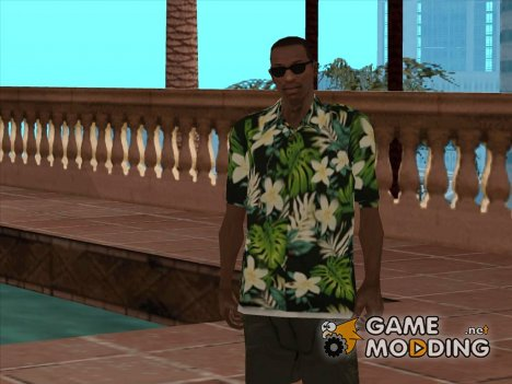 Гавайская рубашка for GTA San Andreas