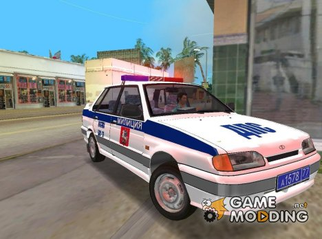 ВАЗ 2115 ДПС for GTA Vice City