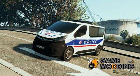 Opel Vivaro Police Nationale for GTA 5