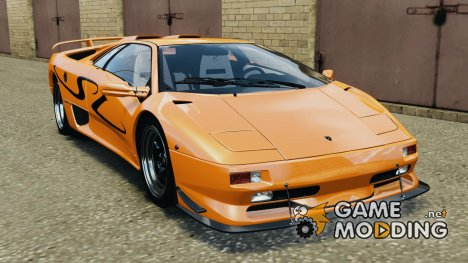 Lamborghini Diablo SV 1997 v4.0 [EPM] for GTA 4