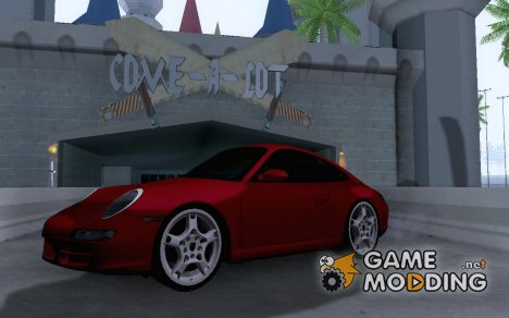 Porsche 911 Carrera S (997) for GTA San Andreas