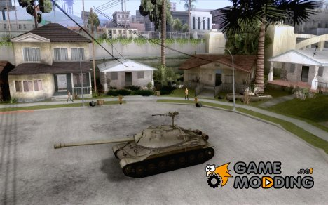 IS-7 Heavy Tank for GTA San Andreas