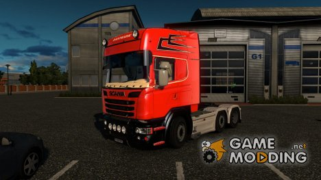 Scania DANMARK for Euro Truck Simulator 2