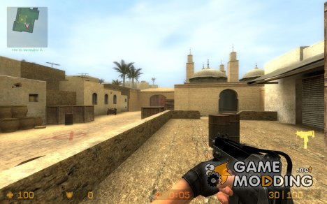 Chrome Mac 10! для Counter-Strike Source