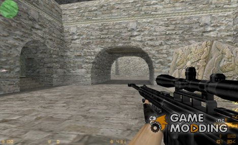 BLACK BARRETT M82A1 для Counter-Strike 1.6