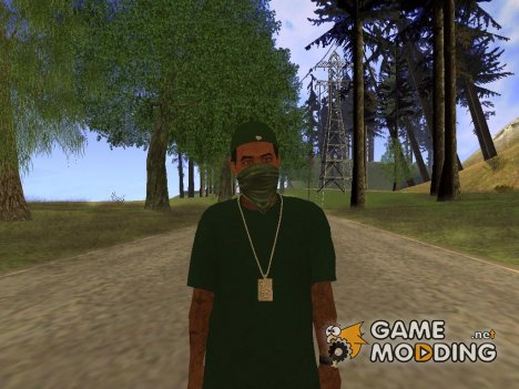 Lamar from GTA 5 v.1 для GTA San Andreas