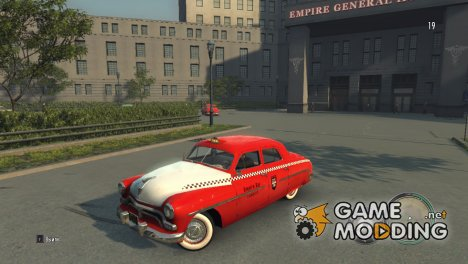 Новое красное такси for Mafia II