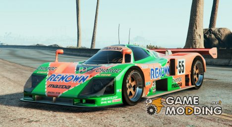 Mazda 787b для GTA 5