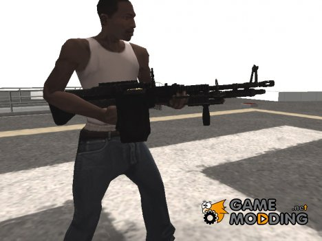 M60 Machine Gun for GTA San Andreas