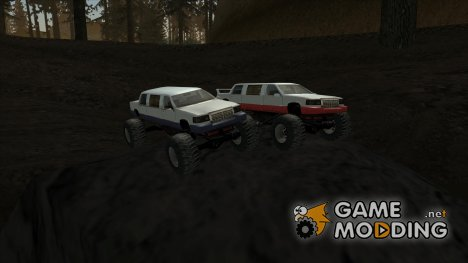 Stretch Monster Truck FIX для GTA San Andreas