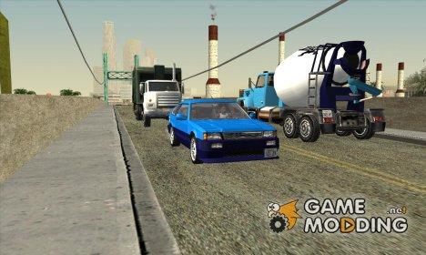 Новый траффик на дорогах Сан-Андреаса v.2 + Бонус for GTA San Andreas