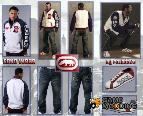 """Одежда от """"Ecko"""" для GTA 4"""