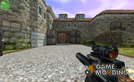 P90 (silenced w/ scope) для Counter-Strike 1.6