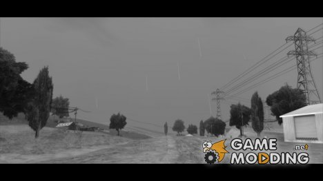 INSANITY Rain Bug Fix and Sounds для GTA San Andreas