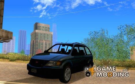Minivan из GTA 4 для GTA San Andreas