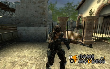 RedRaven's US Army Ranger CT Skin -Updated- для Counter-Strike Source