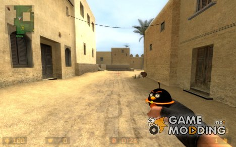 Black bird for HE Grenade for Counter-Strike Source