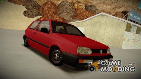 Volksvagen Golf Mk3 для GTA San Andreas