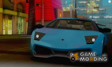 Lamborghini Murcielago LP640-4 SV 2010 for GTA San Andreas