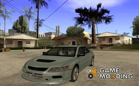 Mitsubishi Lancer Evo IX MR Edition for GTA San Andreas