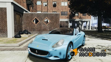 Ferrari California для GTA 4