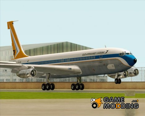 Boeing 707-300 South African Airways for GTA San Andreas