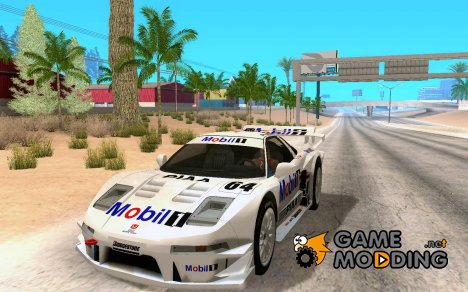 2001 Honda Mobil 1 NSX JGTC for GTA San Andreas
