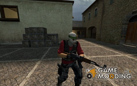 Phoenix Reskin With Head Band для Counter-Strike Source