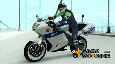 BMW R1200S Мотобат ДПС for GTA San Andreas
