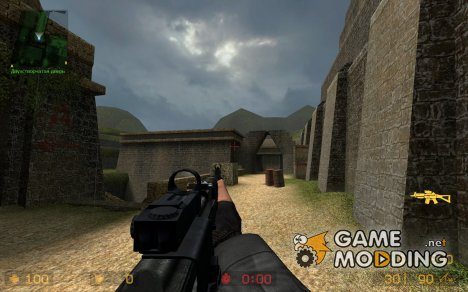 AK-74M Revisited for Counter-Strike Source