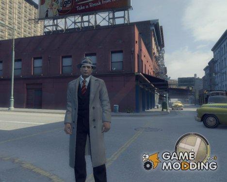 Серое пальто (Пальто Джо) для Mafia II