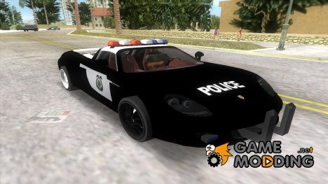 Porsche Carrera GT Police for GTA Vice City